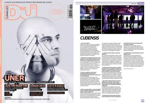 Entrevista a Cubensis en la revista DJMAG