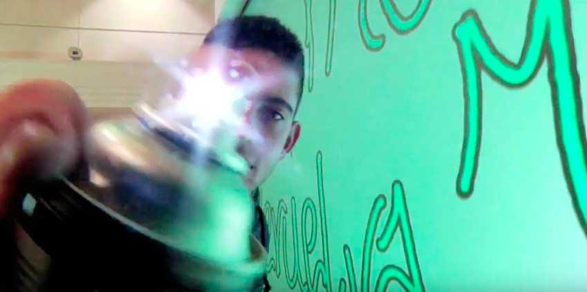 Graffiti Digital con Banca Cívica