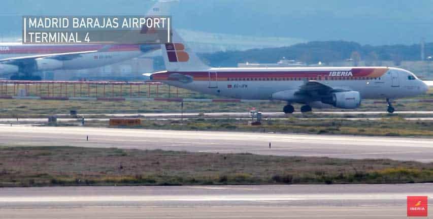 Iberia y Panasonic Soluciones móviles en la T4
