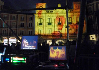 Burgos European Capital 2016 – Video Mapping