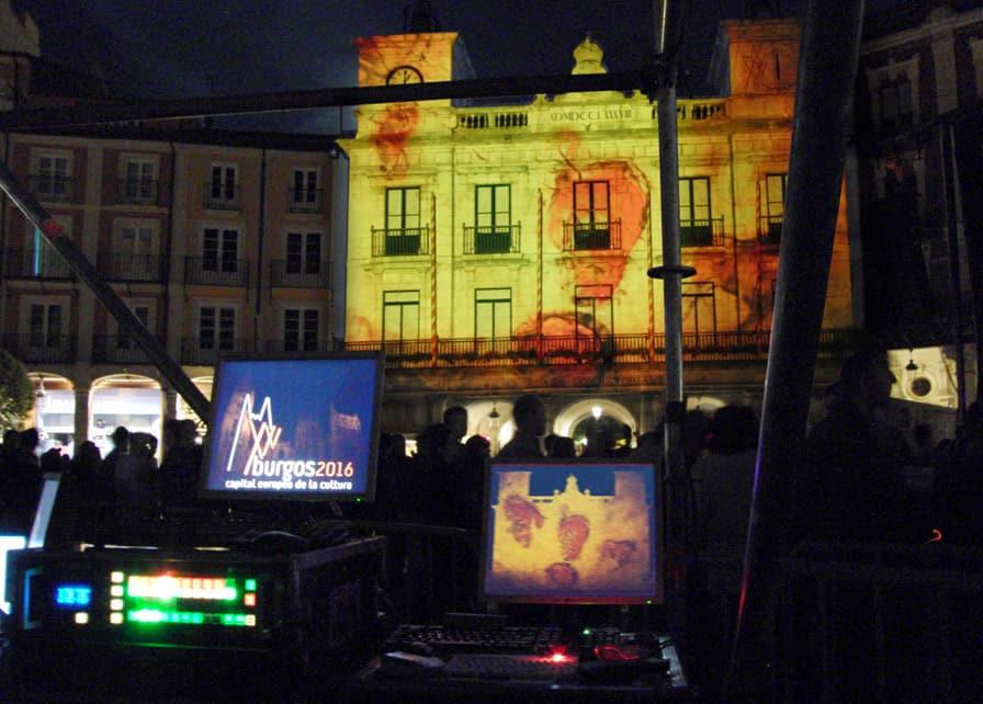 Burgos Capital Europea 2016 – Video Mapping