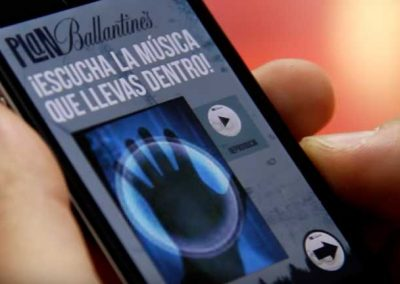 Release the music with in yourself – Ballantine's App
