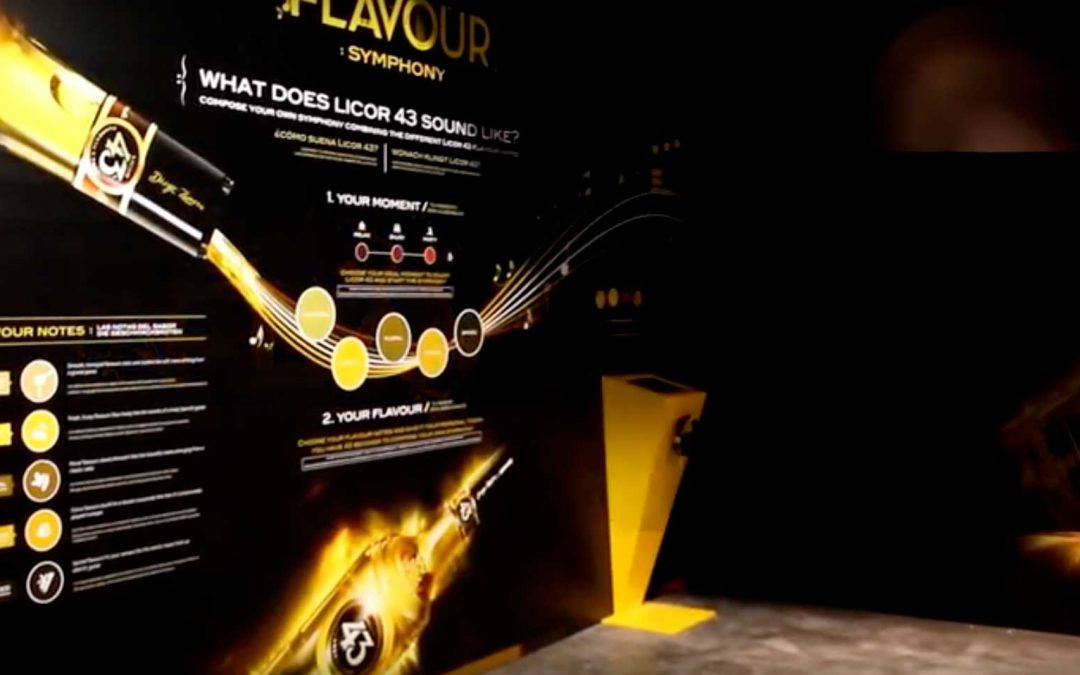 Flavours Symphony Licor 43 – Interactivo Musical
