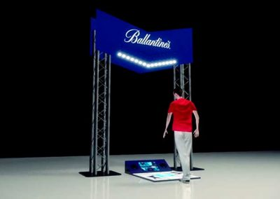 Ballantine's Dance Machine – Interactive