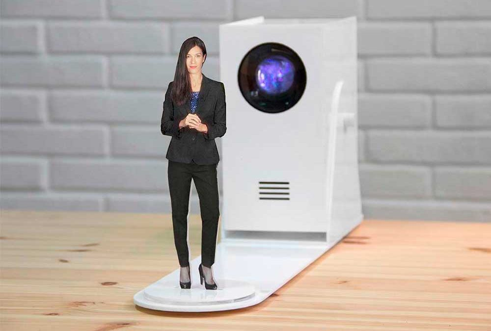 Mini virtual hostess