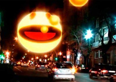 Urban Pac Man Promenade