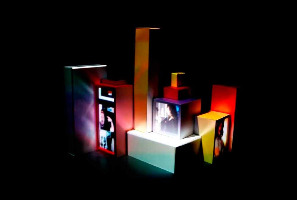 Total Media Fair – Video Mapping