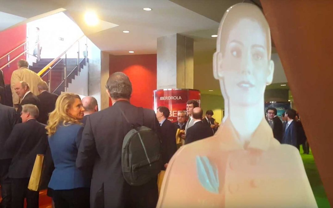 Virtual Hostess Iberdrola shareholder's day