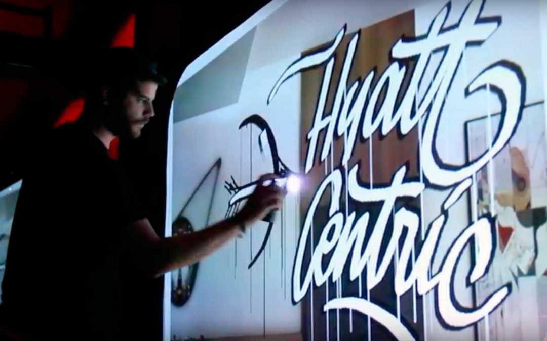 Graffiti Digital Hotel Puerta de América