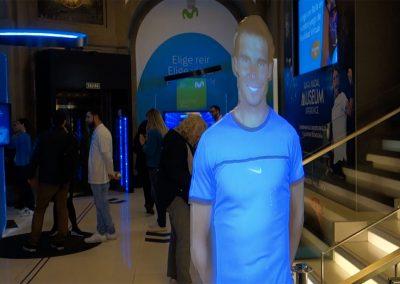 Rafa Nadal Virtual – Flagship Store Telefónica Madrid