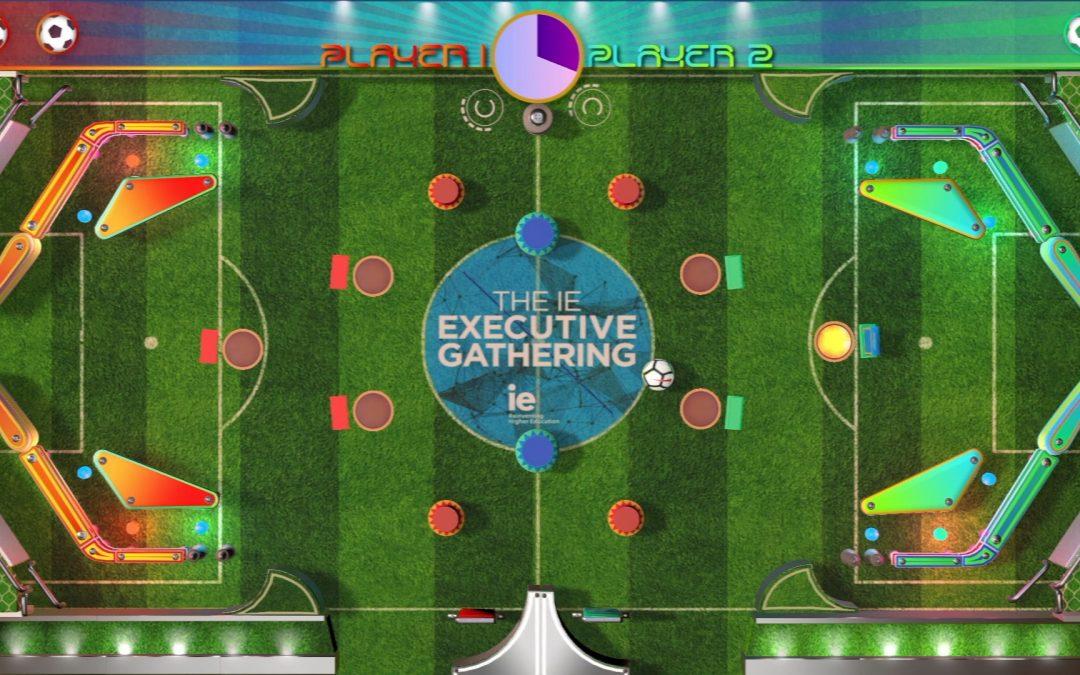 Gamificación Pinball para el Instituto de Empresa