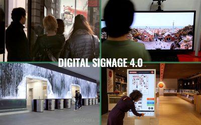 4 ejemplos asombrosos de Digital Signage