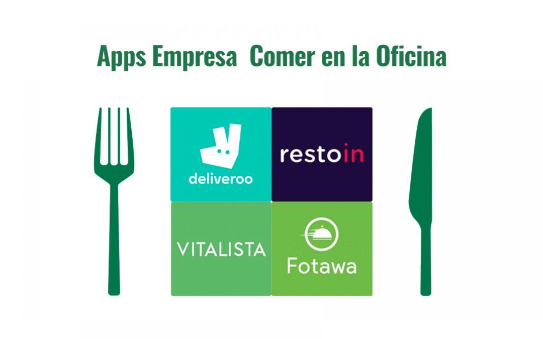 4 Aplicaciones para comer en la oficina