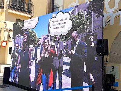 photocall personalizado interactivo