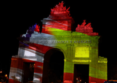 Video Mapping Puerta de Toledo